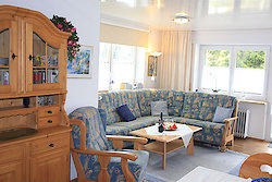 Ferienwohnung Pröller - Wohnbereich